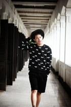 black eye motif Kenzo sweatshirt - black and white tomkins shoes