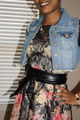 Suede-blowfish-boots-lace-american-rags-dress-denim-unknown-jacket
