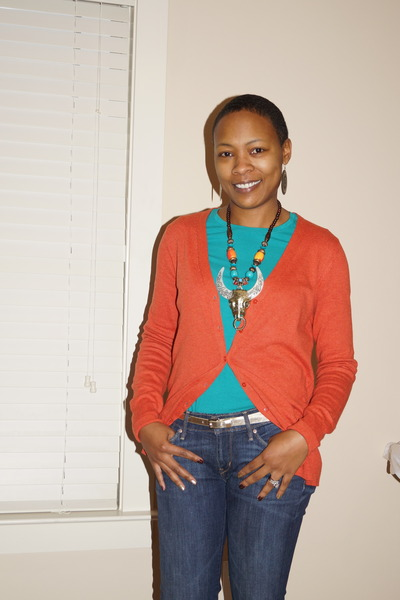 Levis jeans - Gap cardigan - Old Navy t-shirt - f21 belt