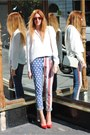 Red-wayfarer-ray-ban-sunglasses-american-flag-topshop-jeans
