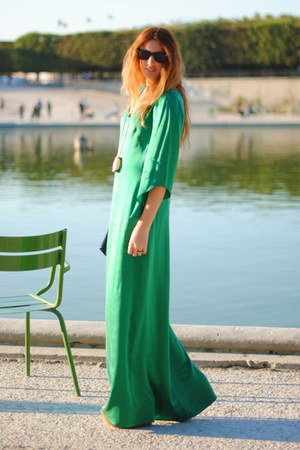 green selfmade Surf Addict Fashionista dress