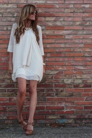 Zara sandals - Queens Wardrobe dress - Mango necklace
