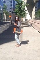 River Island jeans - Mango blazer - Celine bag - spectra glasses