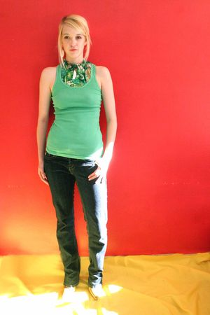 green reclaimedfashionscom top - blue jeans