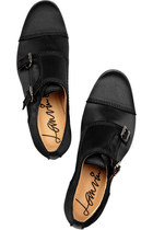 black loafers lanvin shoes