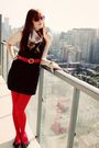 Black-vintage-dress-red-american-apparel-tights-black-payless-shoes-red-vi