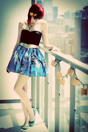 navy Lynns Rags dress