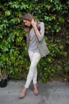 H&M sweater - Zara jeans - True Religion heels - H&M vest
