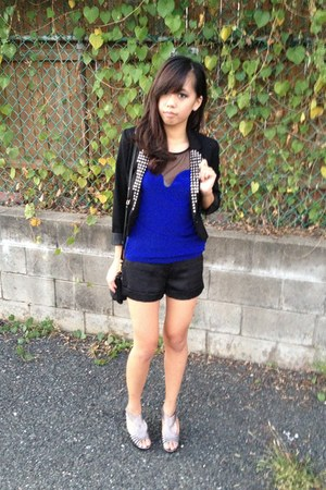 studded blazer DIY blazer - Urban Outfitters top