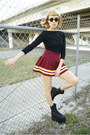 Queen-ii-substitute-boots-cheerleading-skirt-bodysuit