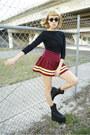 Queen-ii-substitute-boots-cheerleading-skirt-bodysuit