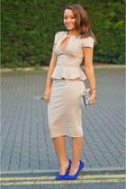 Boohoo dress - Ebay bag - Matalan heels