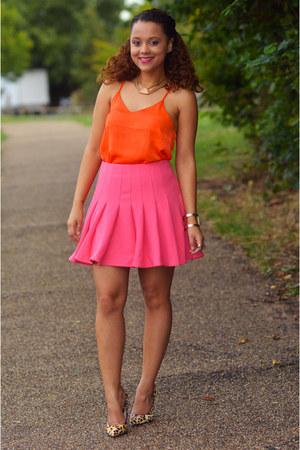 H&M skirt - H&M vest