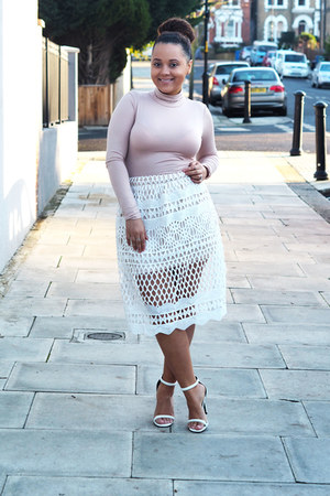 Missguided skirt - Missguided top - Missguided heels