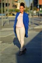 Primark coat - Primark jeans - Primark cardigan