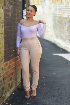Missguided top - Missguided pants