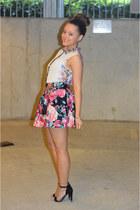 Primark top - Primark shirt - Primark heels