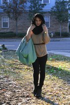sam edelman boots - Express sweater - calzatura scarf