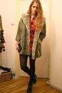 Beige-topshop-coat-red-my-grandmas-shirt-black-h-m-boots