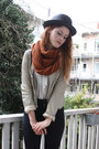 Black-zipper-american-apparel-jeans-beige-zipper-zara-jacket-burnt-orange-ci