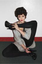 brown Ebay accessories - black Burberry Prorsum shoes - gray Filippa K cardigan