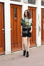 Black-asos-boots-green-tree-print-aloha-from-deer-sweater