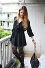 Black-vintage-dress-black-h-m-tights-blue-vintage-shoes-gray-stella-mccart