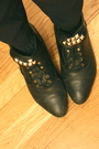 Beige-zara-jacket-black-vintage-purse-black-vintage-pants-black-vintage-bo