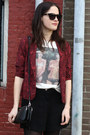 Black-rebecca-minkoff-bag-red-snake-print-new-look-blazer
