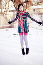 Black-mens-fila-boots-black-vogue-dress-salmon-solid-urban-outfitters-tights