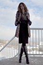 Black-bcbg-boots-deep-purple-joe-fresh-skirt