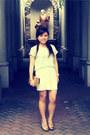 Thailand-market-blouse-white-forever-21-skirt-gold-michael-antonio-pumps