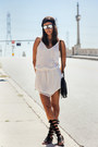 White-iro-dress-black-rebecca-minkoff-bag