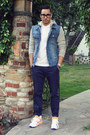 Sky-blue-denim-sweat-forever21-jacket-white-polo-lacoste-shirt