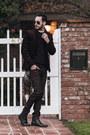 Black-stacy-adams-boots-crimson-hot-topic-jeans-crimson-lacoste-sweater