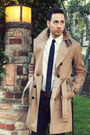 Navy-h-m-jeans-camel-trench-burberry-coat-white-gap-shirt