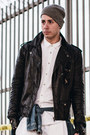 Black-leather-h-m-jacket-white-oxford-topman-shirt-navy-denim-topman-shirt