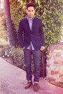 Dark-brown-zara-shoes-navy-levis-jeans-navy-club-monaco-jacket