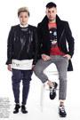 Black-topman-coat-maroon-life-clothing-co-shirt-black-print-topman-pants
