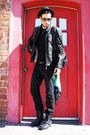 Black-ralph-lauren-boots-black-levis-jeans-black-h-m-hat