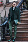 Forest-green-tsubo-shoes-forest-green-ted-baker-coat