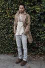 Dark-brown-brogue-shoes-zara-shoes-tan-trench-coat-burberry-coat