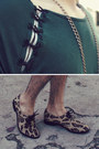 Olive-green-micha-design-necklace-tan-leopard-penelope-and-coco-shoes
