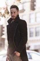 Topman coat - Club Monaco blazer - Forever21 shirt - Topman pants