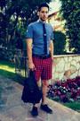 Royal-elastics-shoes-pin-dot-ben-sherman-shirt-backpack-h-m-bag