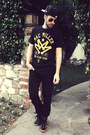 Black-levis-jeans-black-new-era-hat-black-mac-miller-hot-topic-shirt