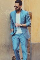 light blue INC International Concepts suit