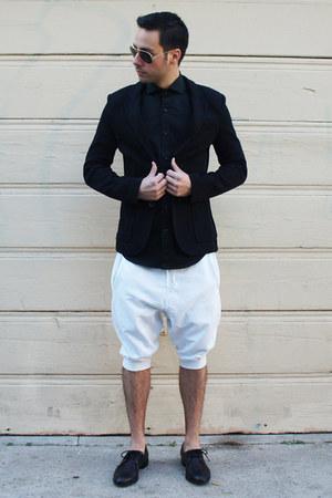 black oxfords Penelope and Coco shoes - black Zara blazer