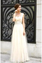 ivory Prom dress