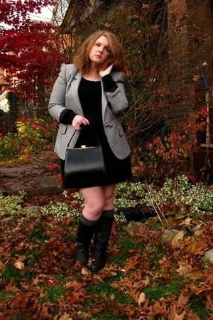 Rhitbee Anne Vintage blazer - black Rhitbee Anne Vintage purse - black vintage b